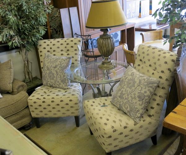 Lotus Blossum Slipper Chairs