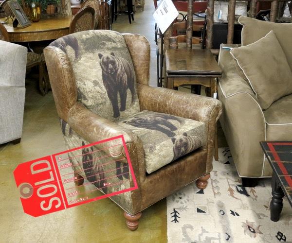 Bear Chair - Sold