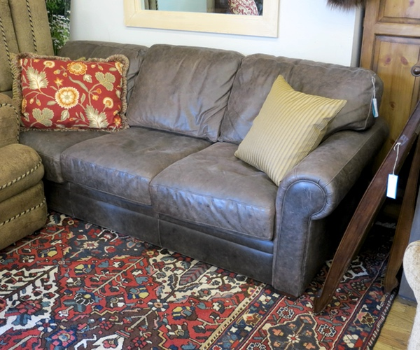 Leather Sleep Sofa
