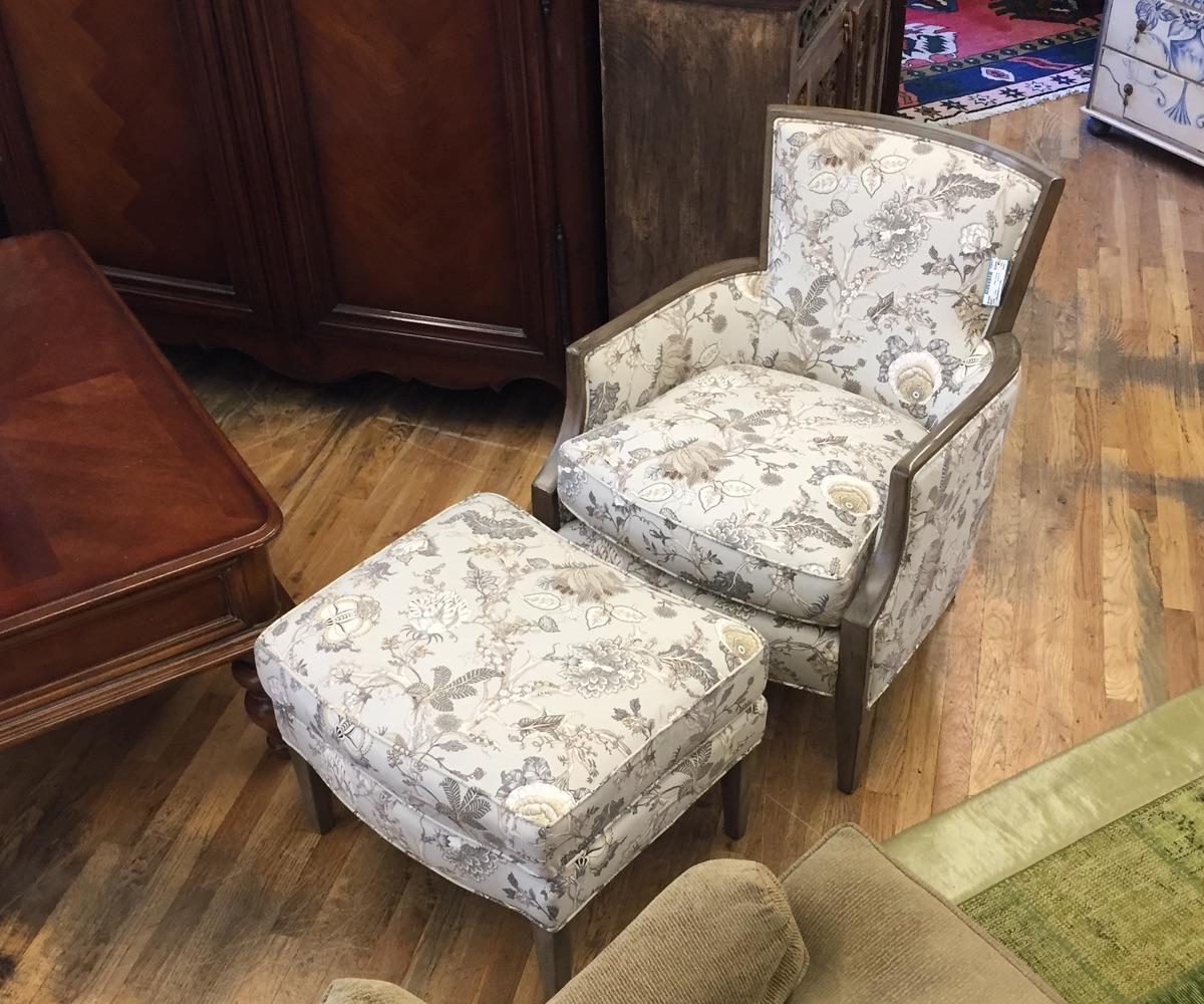 Ahrens Chair & Ottoman