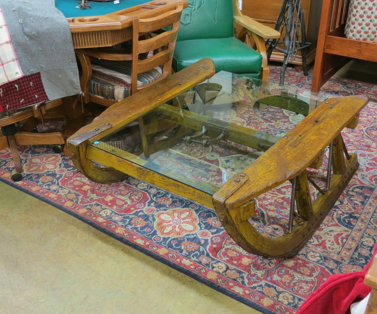 Sled Coffee Table Nest