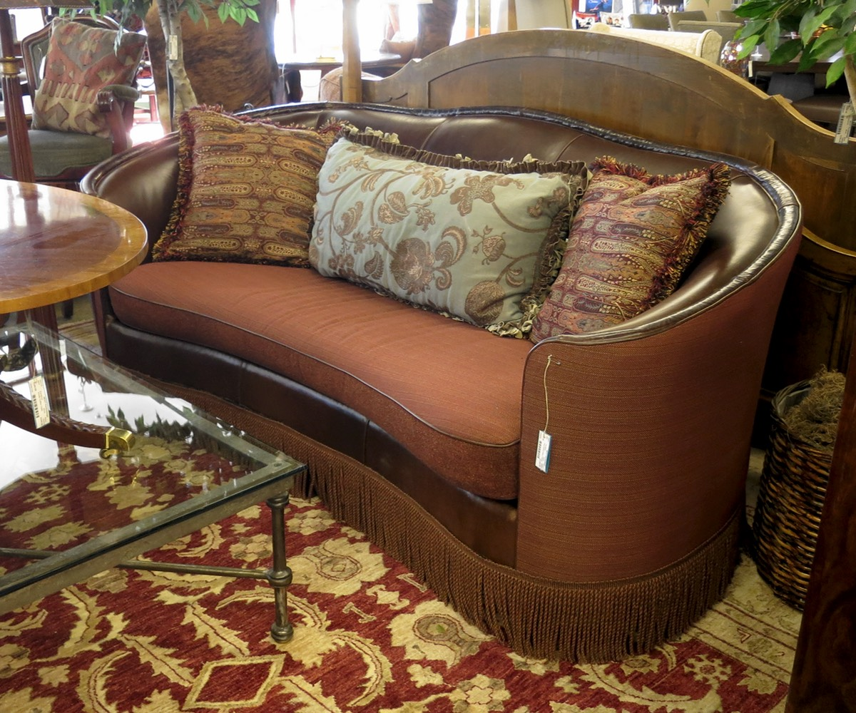 Paul Roberts Curved Sofa