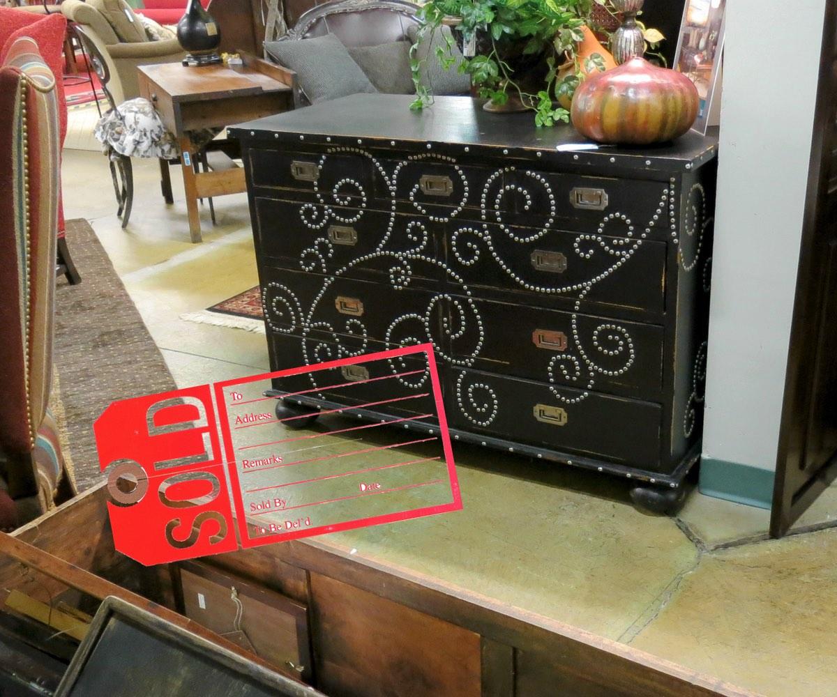 Studded Dresser - Sold