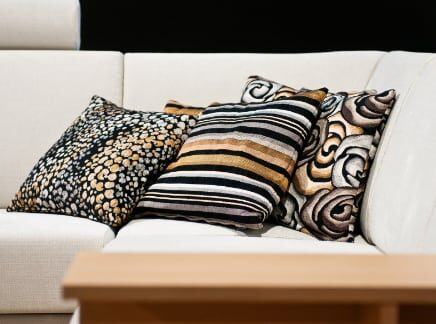 Sofa with Pillows 436x324